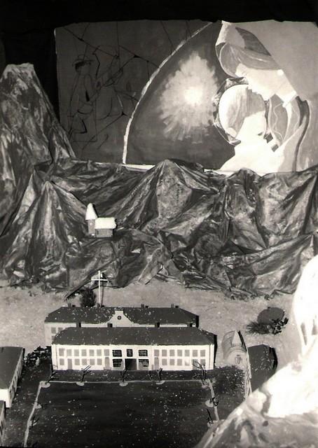 crèches de noël en 1969 Concou21