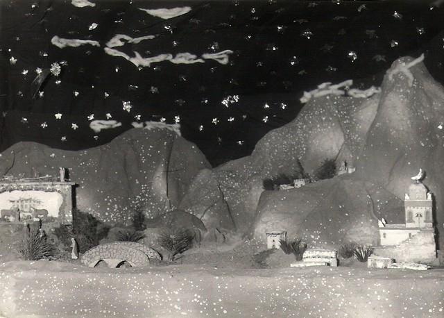 crèches de noël en 1969 Concou23