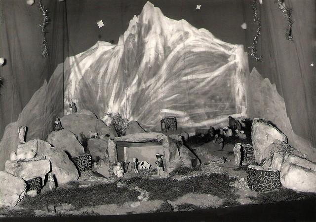 crèches de noël en 1969 Concou24