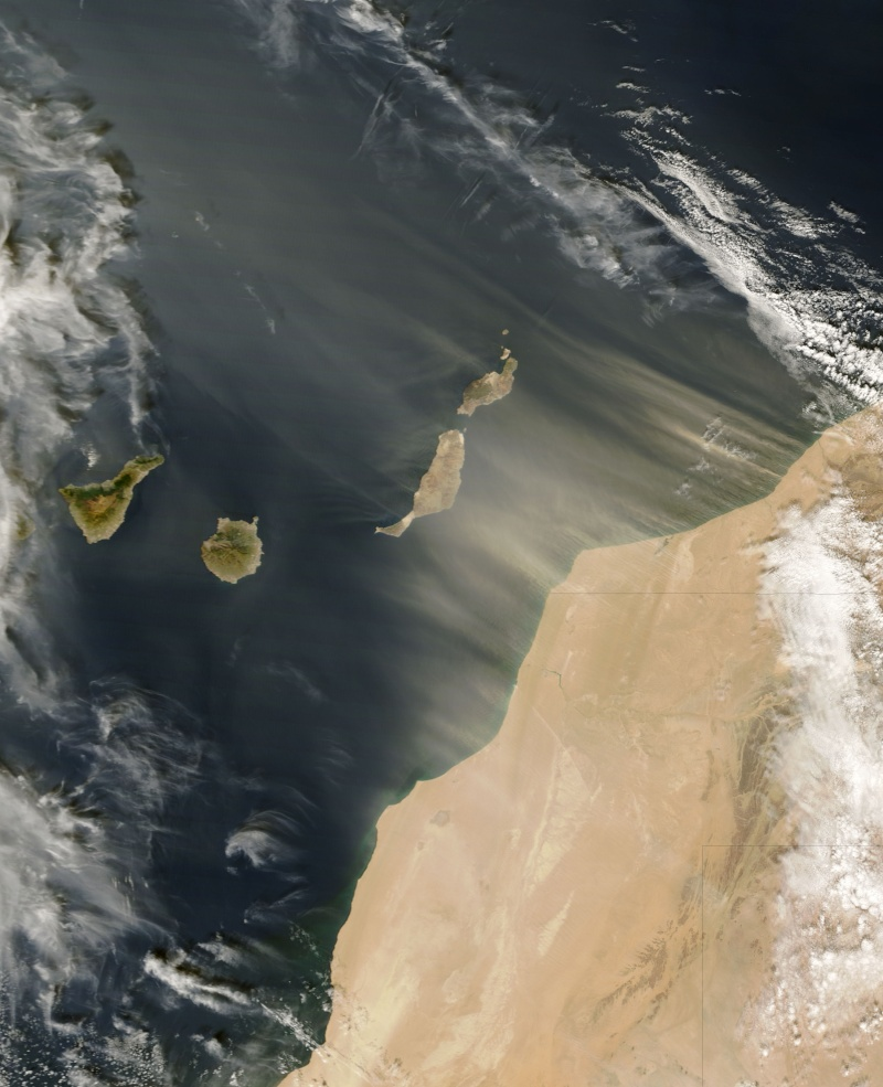 earth observatory - Earth Observatory - Images de la NASA Canary10