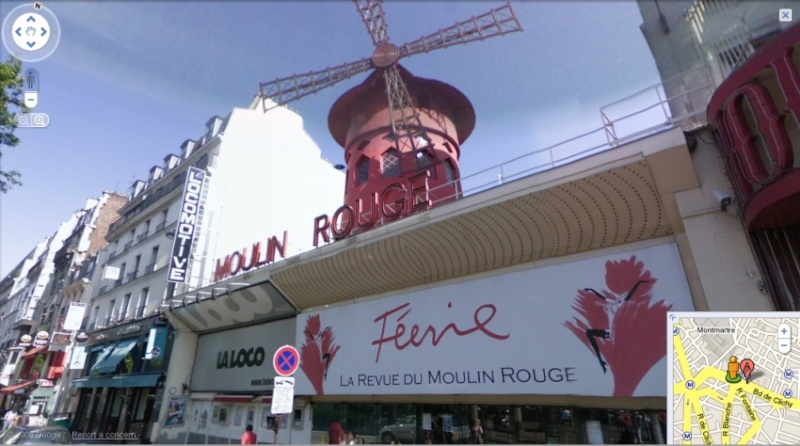 STREET VIEW : le Moulin Rouge (Paris France) Sans_t74