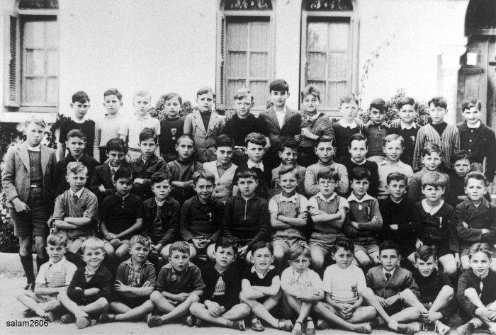 """l'Ecole des Frères de la Salle et des """"Oliviers"""" 1940_m10"""