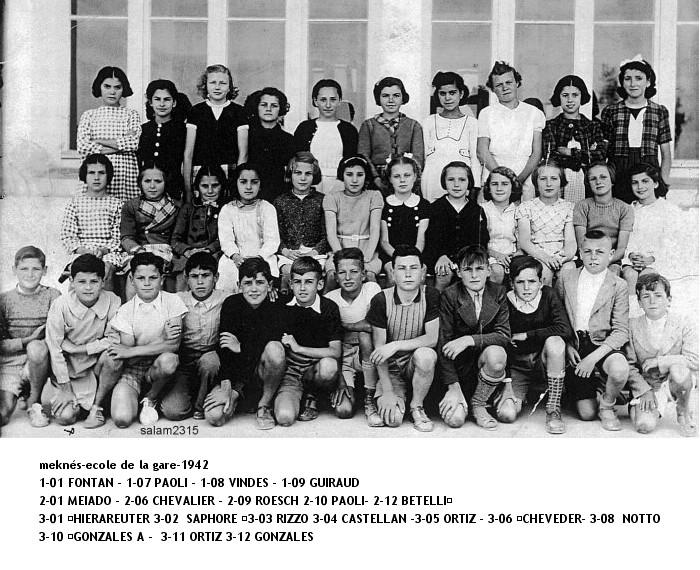 l'Ecole de la Gare 1942_e10