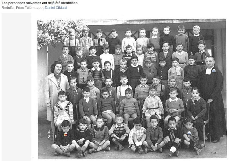 """l'Ecole des Frères de la Salle et des """"Oliviers"""" 1947_f10"""