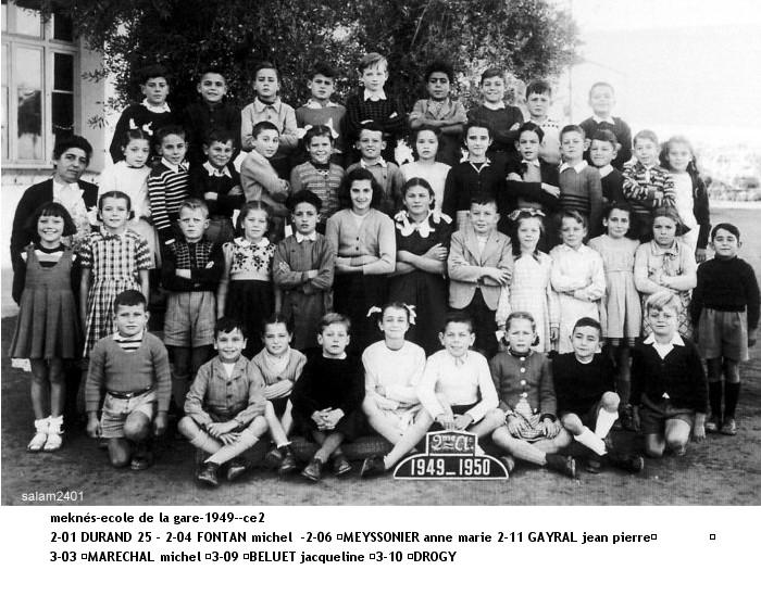 l'Ecole de la Gare 1949_-10