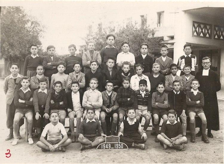 """l'Ecole des Frères de la Salle et des """"Oliviers"""" 1949_511"""