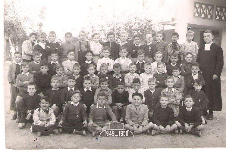 """l'Ecole des Frères de la Salle et des """"Oliviers"""" 1949_i10"""