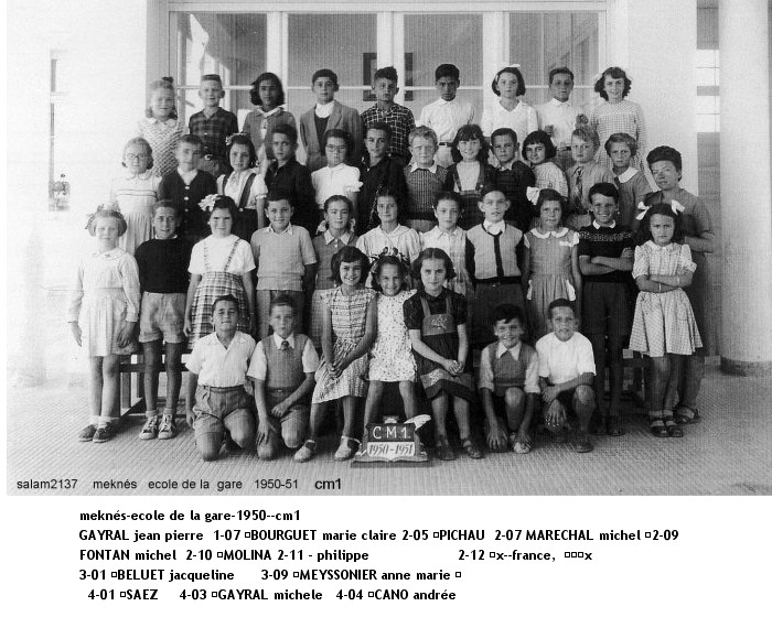 l'Ecole de la Gare 1950_-10