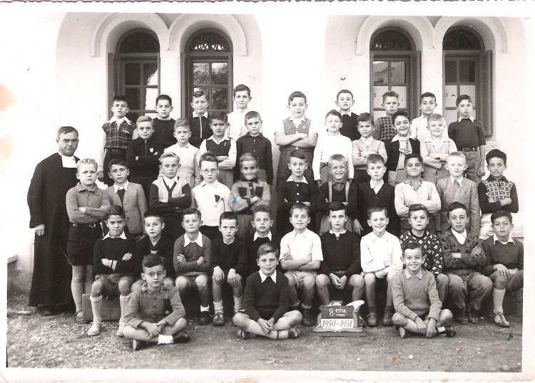 """l'Ecole des Frères de la Salle et des """"Oliviers"""" 1950_810"""
