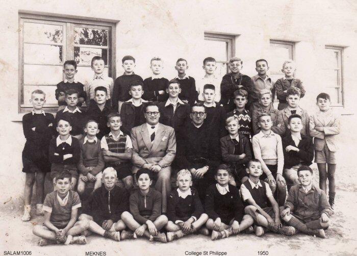Le Collège des Oratoriens à Meknès Plaisance 1951_c13