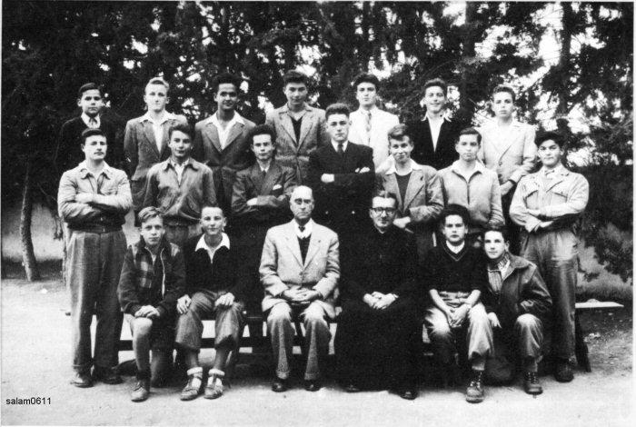 Le Collège des Oratoriens à Meknès Plaisance 1952_c14