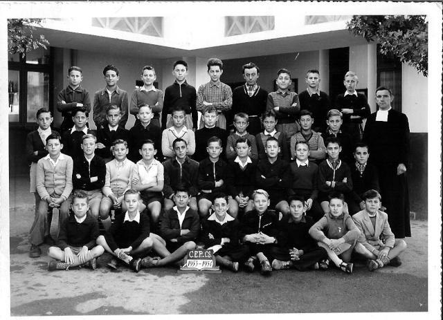 """l'Ecole des Frères de la Salle et des """"Oliviers"""" 1953_c15"""