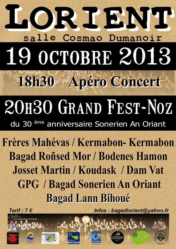 Fest noz du bagad de Lorient Festno10