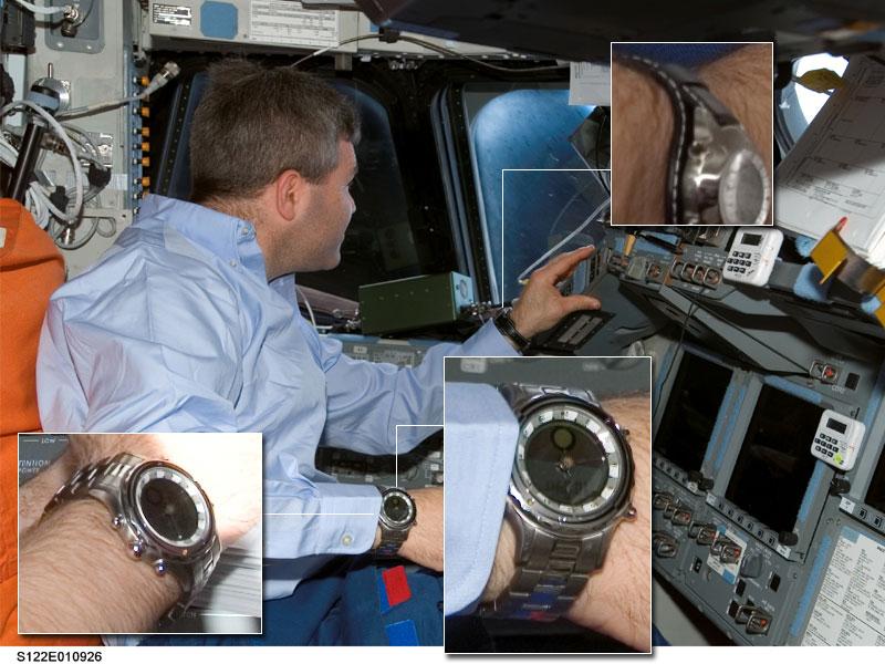 Les montres dans l'espace Space016