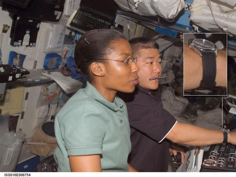 Les montres dans l'espace Space110
