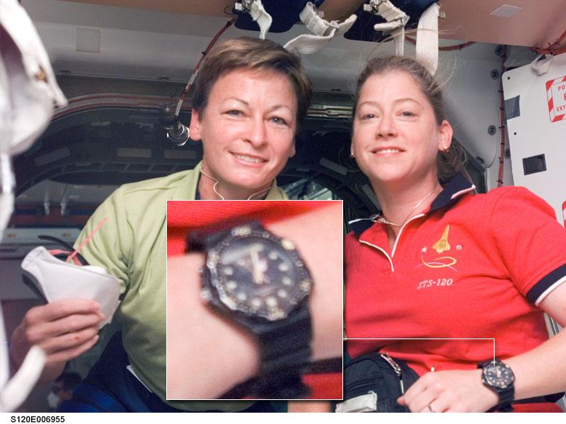 Les montres dans l'espace Space113