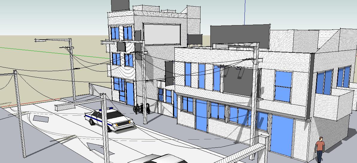 SketchUp'eur architecte -AnthO'- - Page 2 Vue_110