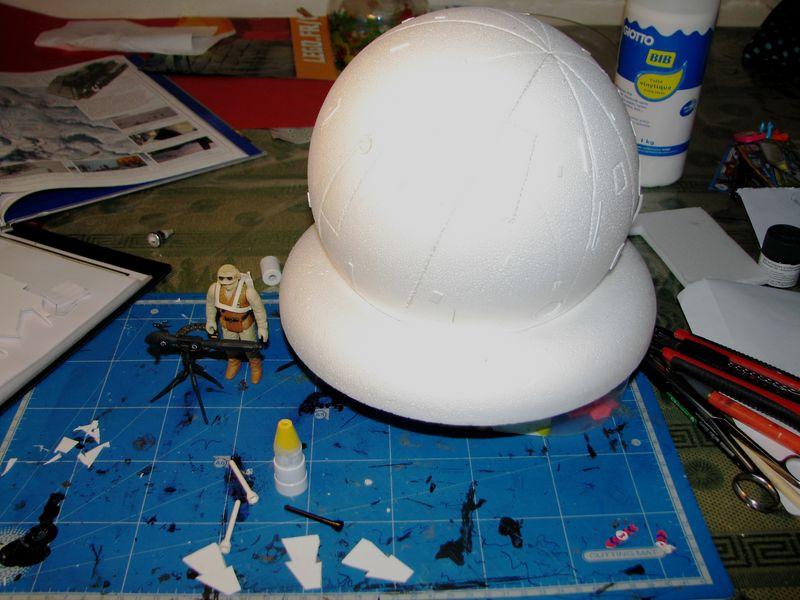 "Making of Diorama ""Hoth battle"". Star wars vintage empire contre attaque. - Page 2 0209210"