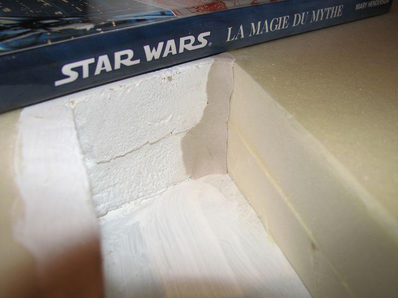 "Making of Diorama ""Hoth battle"". Star wars vintage empire contre attaque. - Page 2 0213610"