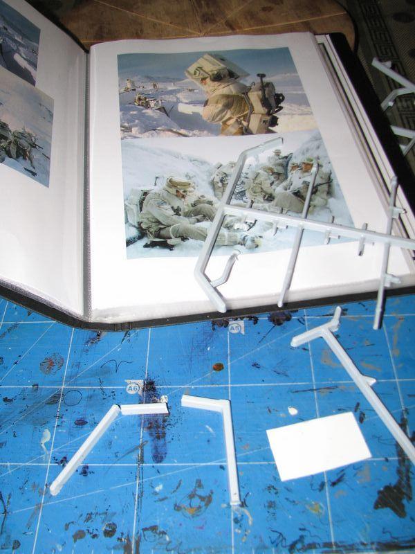 "Making of Diorama ""Hoth battle"". Star wars vintage empire contre attaque. - Page 5 0305210"
