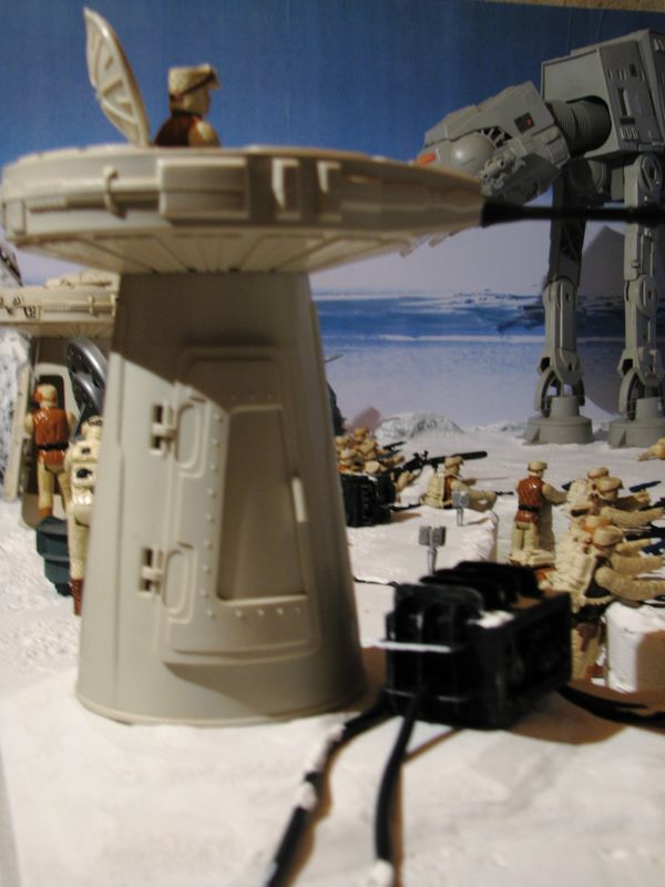 """Making of Diorama """"Hoth battle"""". Star wars vintage empire contre attaque. - Page 5 Battle14"""