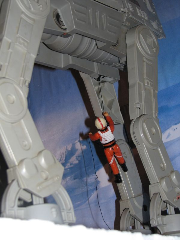 """Making of Diorama """"Hoth battle"""". Star wars vintage empire contre attaque. - Page 5 Battle16"""