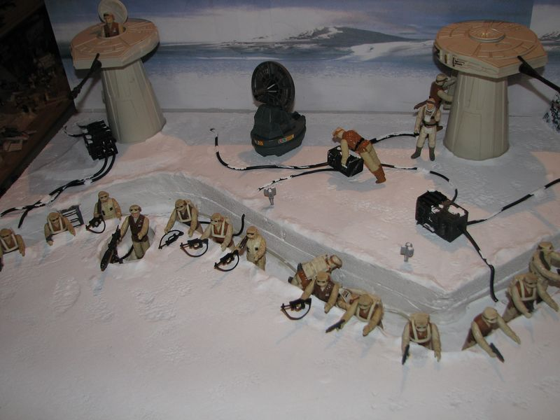 """Making of Diorama """"Hoth battle"""". Star wars vintage empire contre attaque. - Page 5 Battle20"""