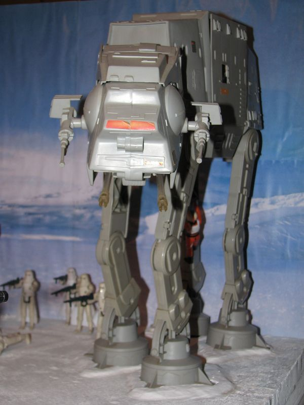 """Making of Diorama """"Hoth battle"""". Star wars vintage empire contre attaque. - Page 5 Battle34"""