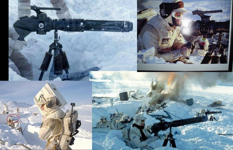 "Making of Diorama ""Hoth battle"". Star wars vintage empire contre attaque. Image110"