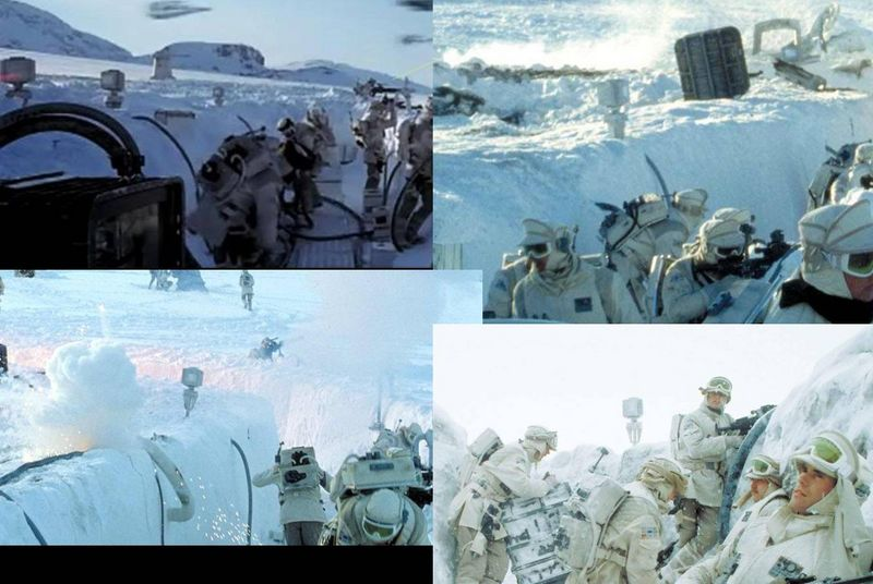 """Making of Diorama """"Hoth battle"""". Star wars vintage empire contre attaque. - Page 5 Image310"""