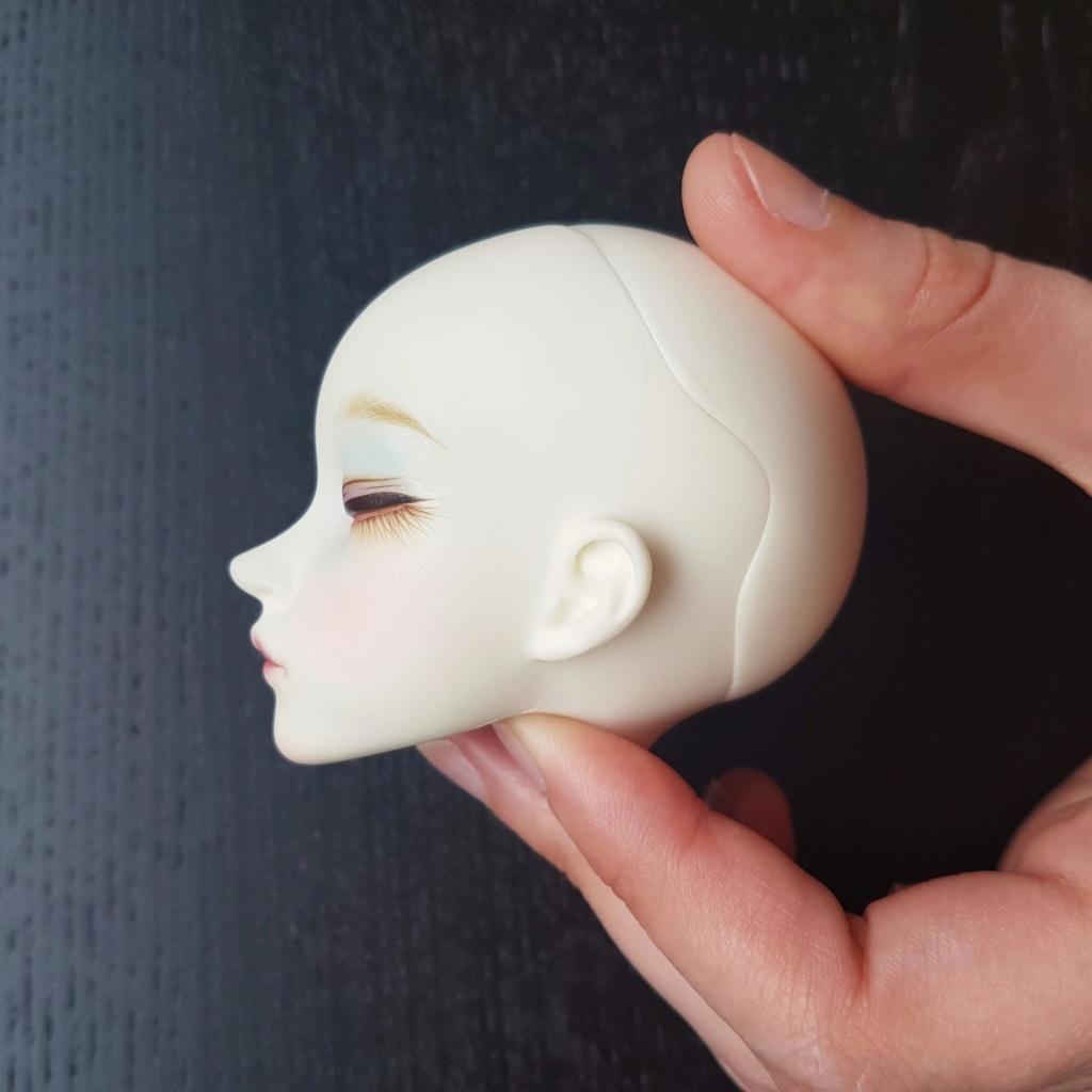 [V] Sleeping Minifee Liria head (BW)  58372910