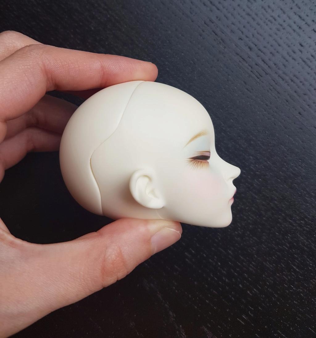 [V] Sleeping Minifee Liria head (BW)  58381510