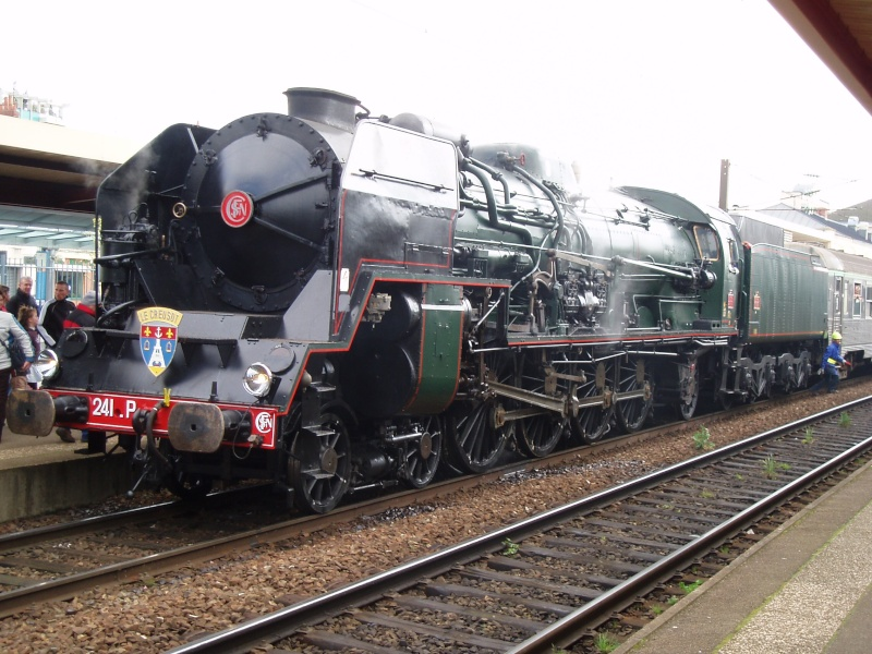 Les locomotives a vapeur echelle 1 36910