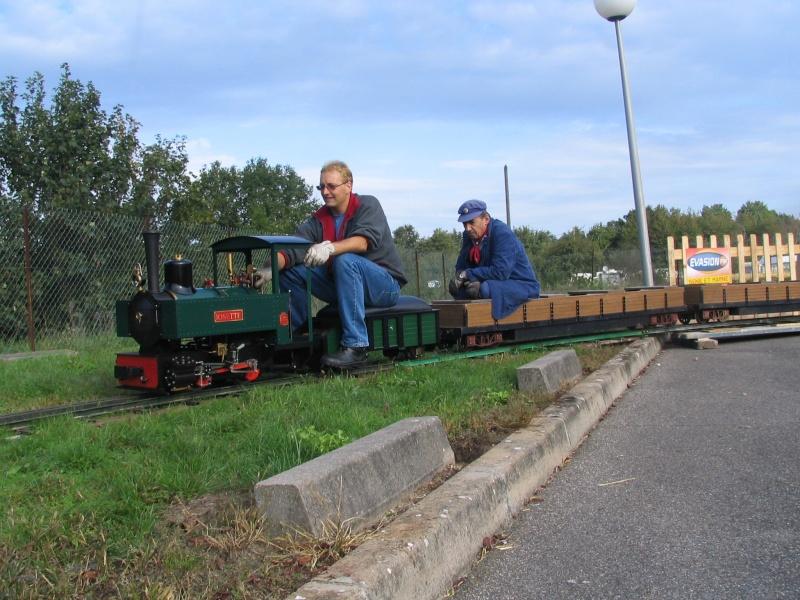 Les locomotives a vapeur echelle 1 Nemour10