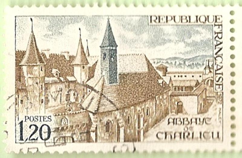 La France par ses timbres sous Google Earth - Page 6 Abbaye10