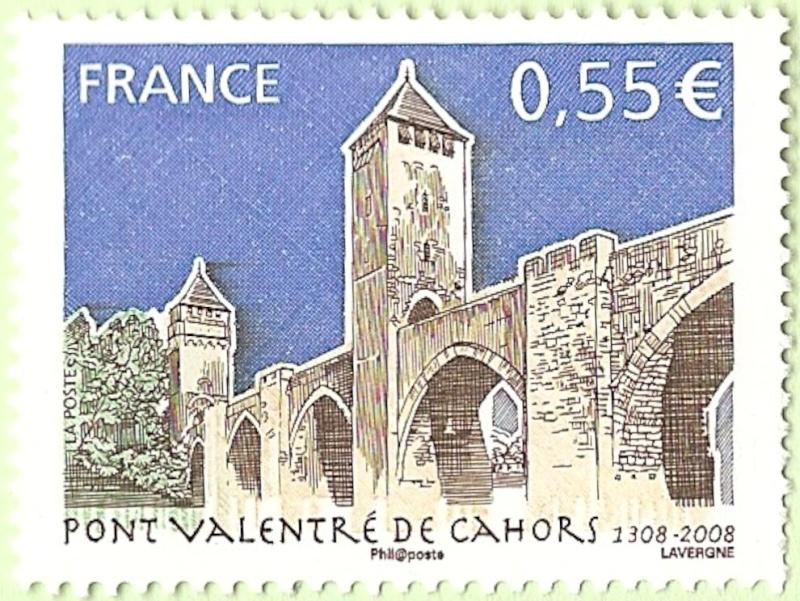 La France par ses timbres sous Google Earth - Page 14 Cahors10
