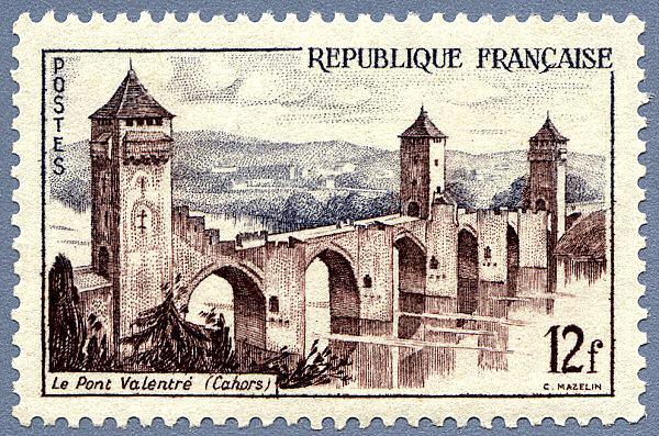 La France par ses timbres sous Google Earth - Page 14 Cahors11