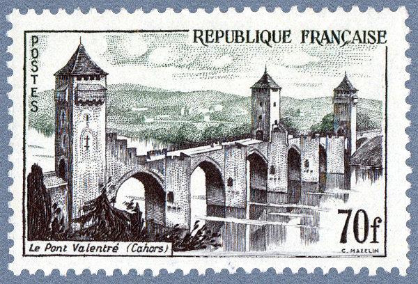 La France par ses timbres sous Google Earth - Page 14 Cahors12