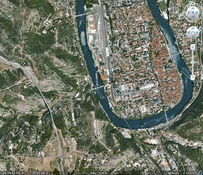 La France par ses timbres sous Google Earth - Page 14 Cahors14