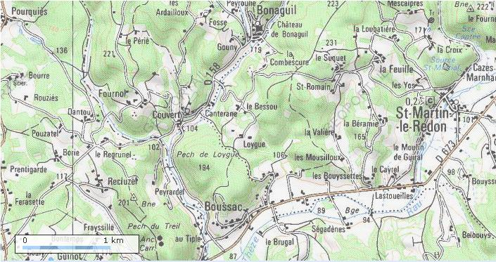 La France par ses timbres sous Google Earth - Page 5 Chatea11
