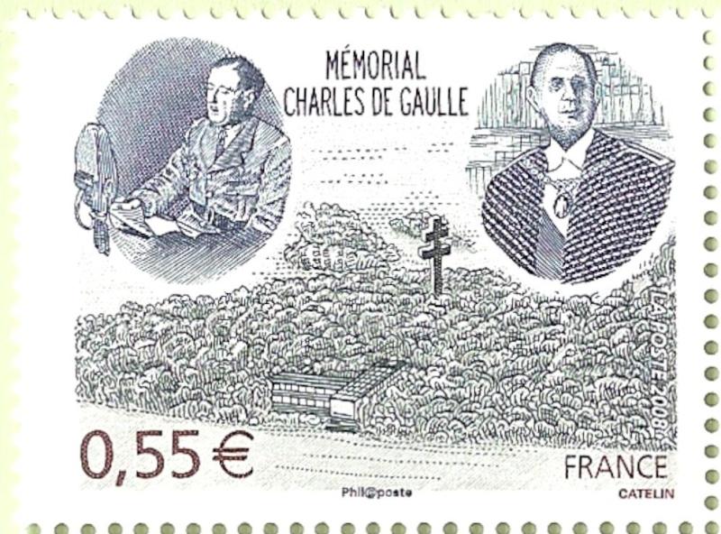 La France par ses timbres sous Google Earth - Page 14 De_gau10