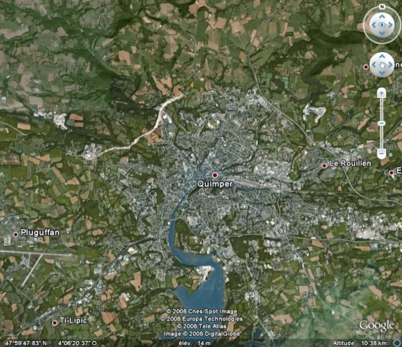 La France par ses timbres sous Google Earth - Page 5 Quimpe11