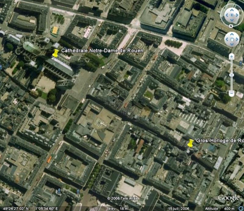 La France par ses timbres sous Google Earth - Page 6 Rouen110