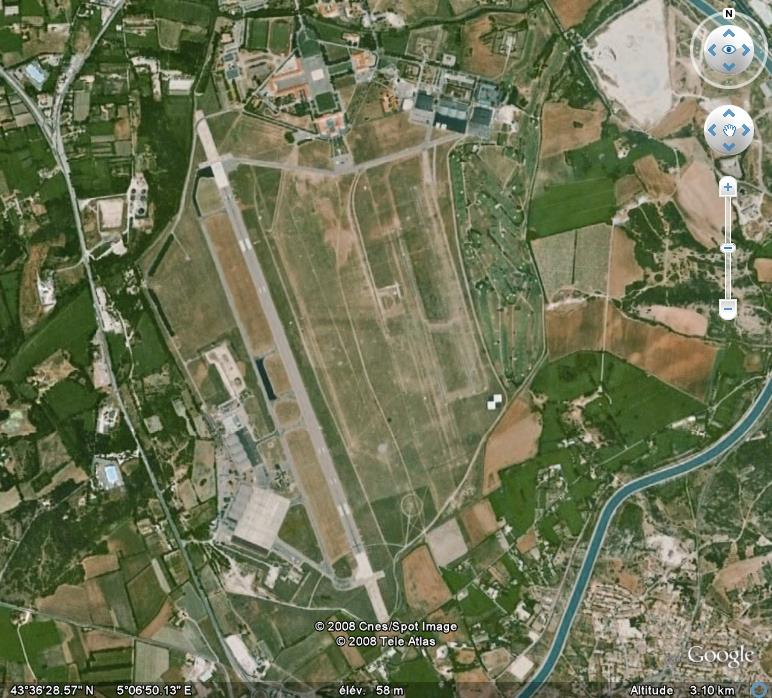 La france par ses timbres sous google earth page 6 - Base 701 salon de provence ...