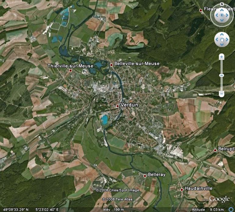 La France par ses timbres sous Google Earth - Page 6 Verdun10