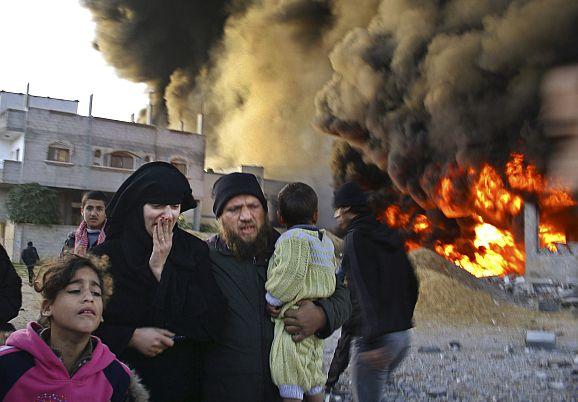 Ayuda a la población civil de Gaza Ca-16612