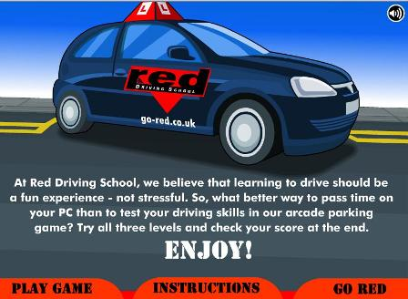 Red driving school Dibujo11