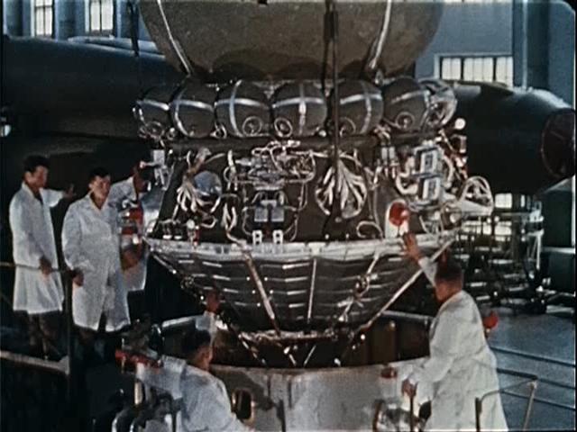 Module de service du Vostok Brown211