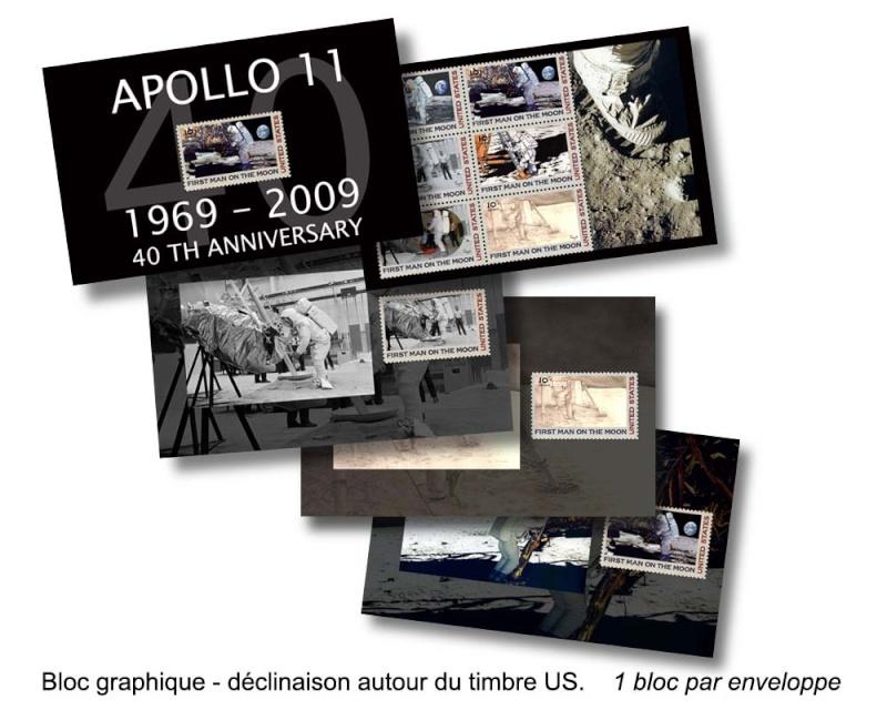 40 ans Apollo 11 / Oeuvre d'art pour collectionneur Presen10