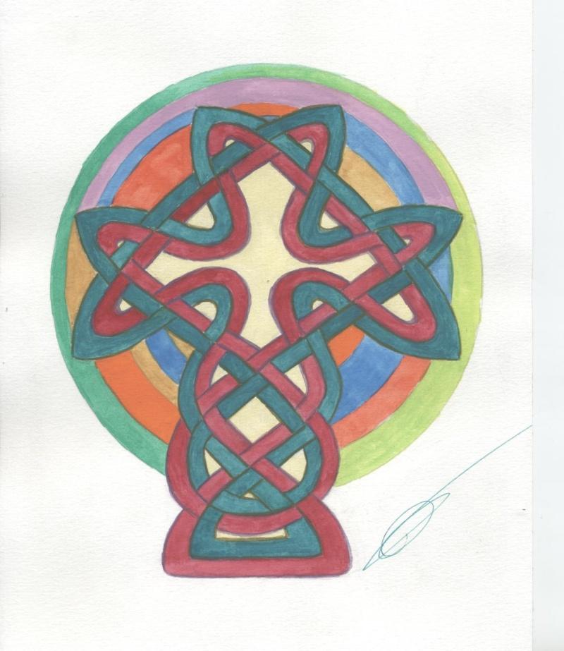 J'aime les entrelacs et autres dessins celtiques - Page 4 Croix_11